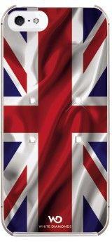 White Diamonds Flag (iPhone 5/5S/SE) - The UK