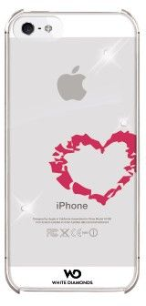 White Diamonds Lipstick Heart (iPhone 5)