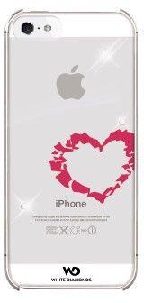White Diamonds Lipstick Heart (iPhone 5/5S/SE)