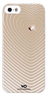 White Diamonds Heartbeat (iPhone 5/5S/SE) – Beige