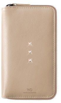 White Diamonds Crystal Purse (iPhone 6/6S) – Beige