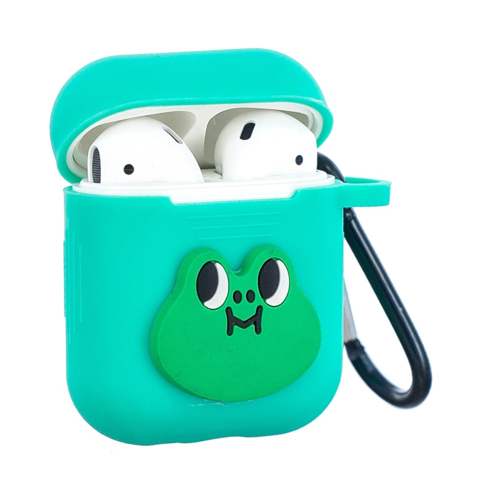 Trolsk Cover with Carabiner for Apple AirPods Case