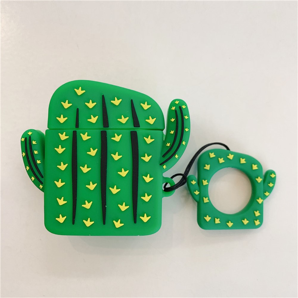 Trolsk Cactus Silicone Cover (AirPods 1/2)