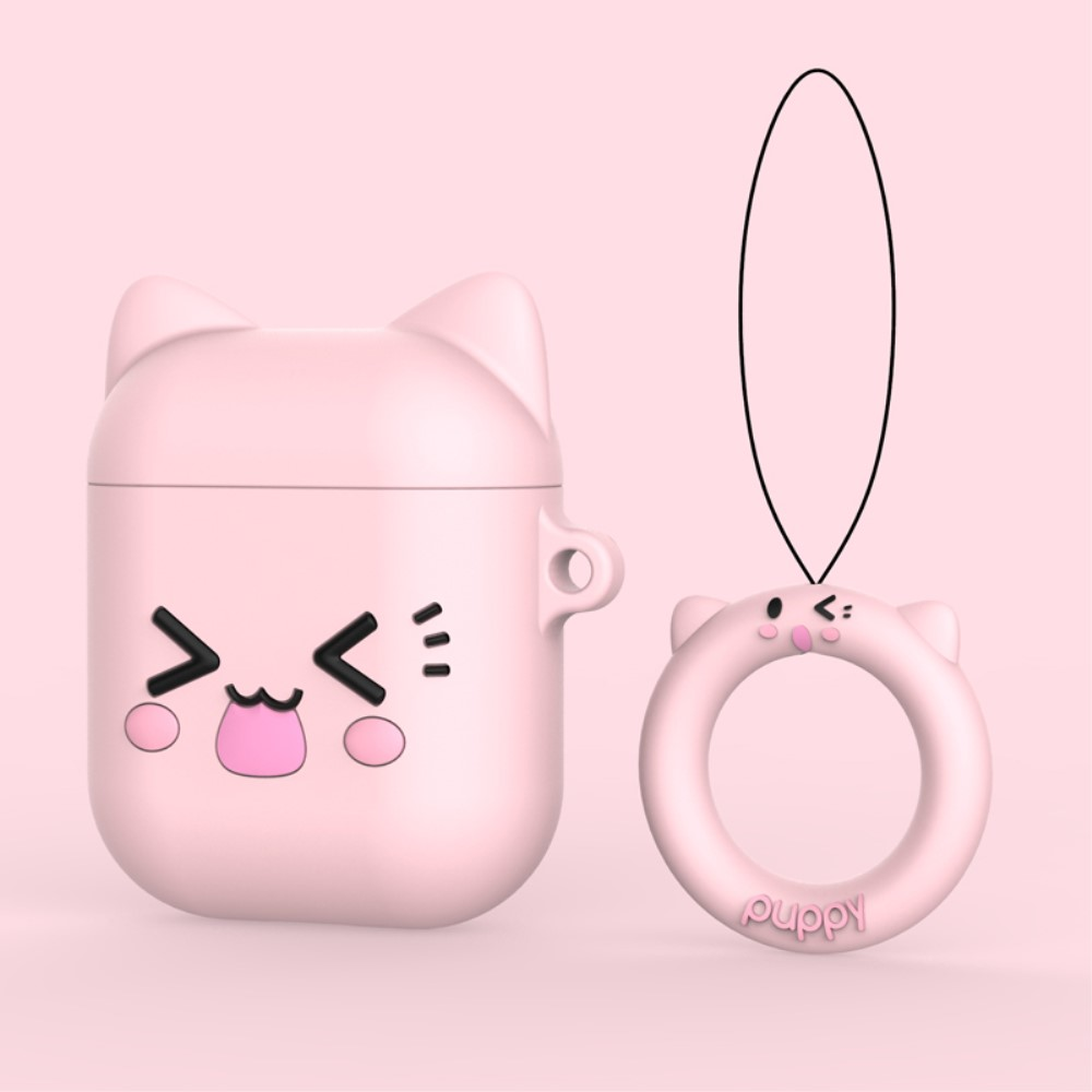 Trolsk Sweet Bear Silicone Cover (AirPods 1/2)