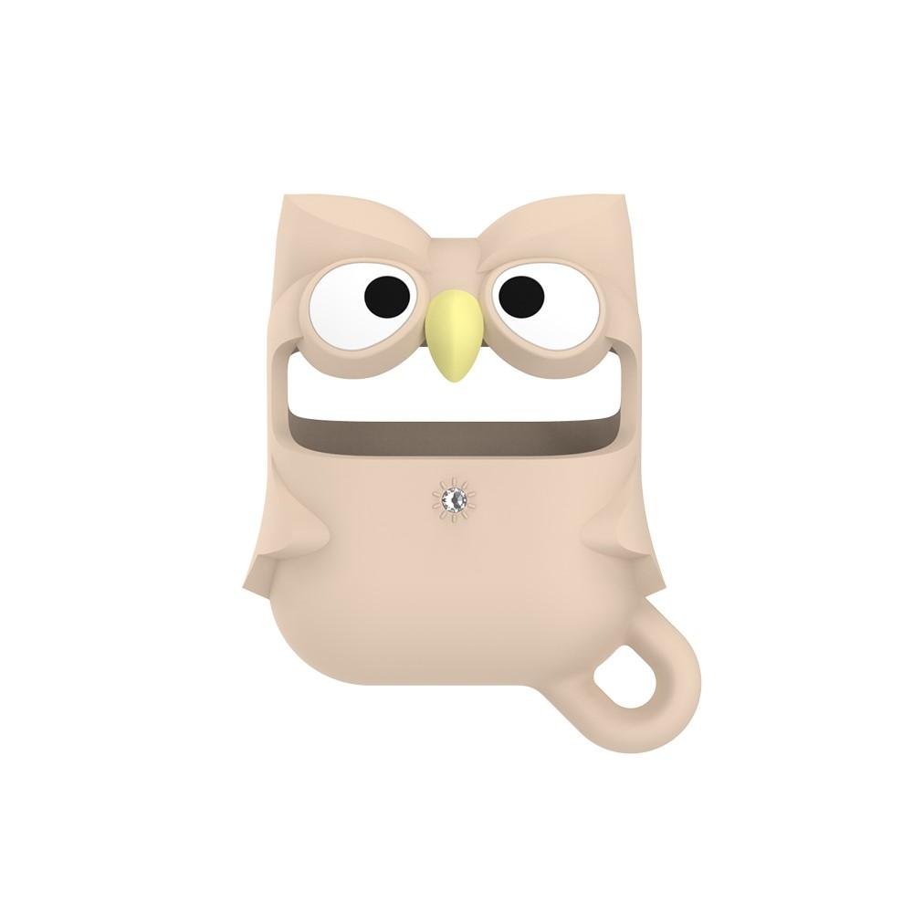 Kingxbar Apple AirPods Case - Cartoon Owl