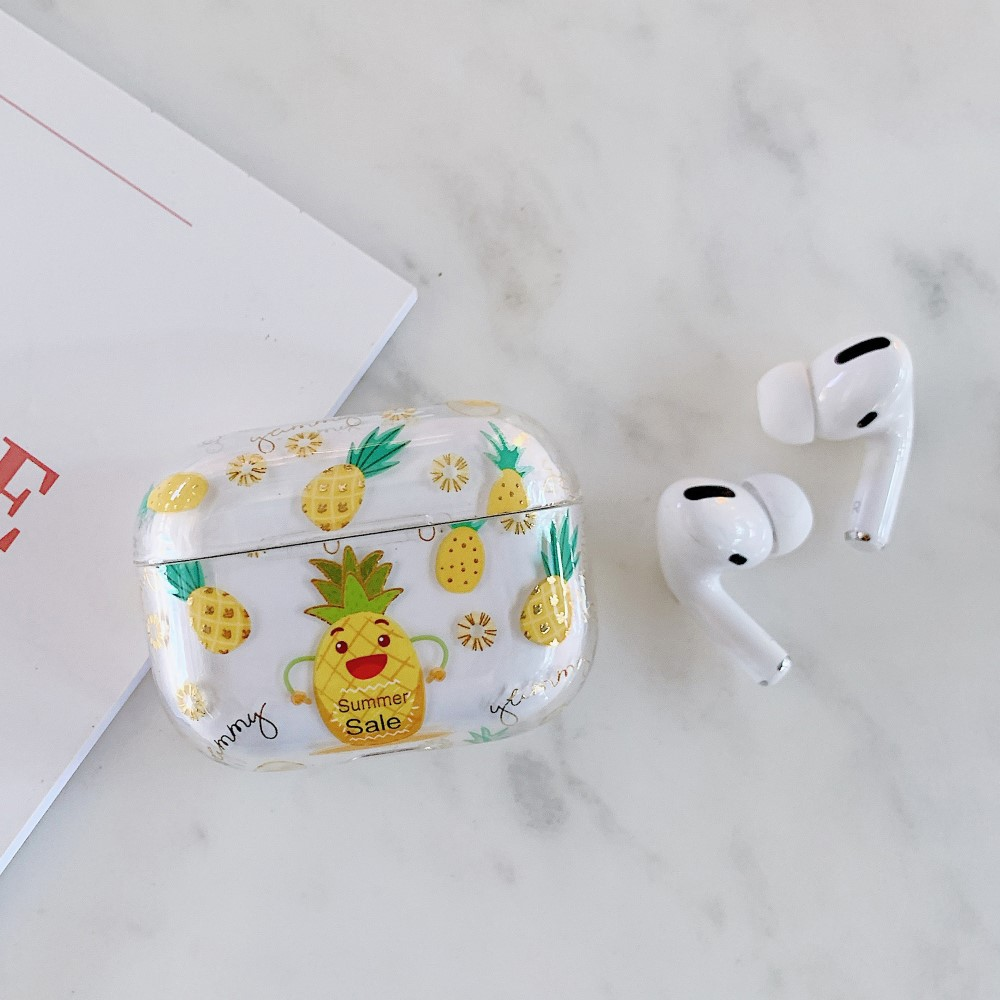 Trolsk Printed Case (AirPods Pro) - Pineapples