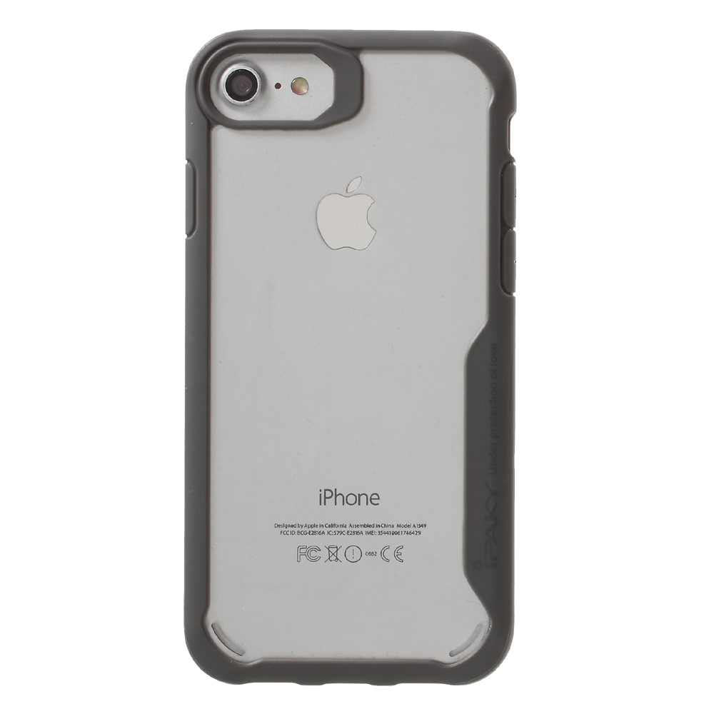 iPaky Anti-Drop Hybrid Case (iPhone SE2/8/7) - Grå