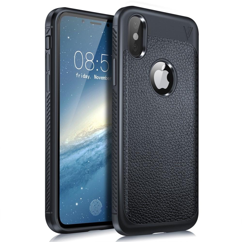 Lenuo Gentlemen Case (iPhone X/Xs) - Blå