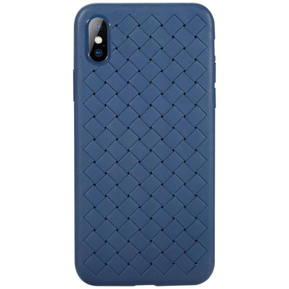 Benks Braided Case (iPhone X/Xs) - Blå