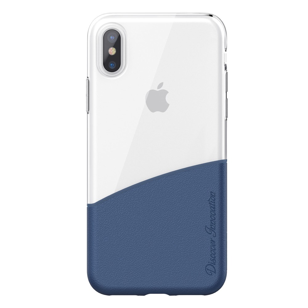 Nillkin Half Case (iPhone X/Xs) - Blå