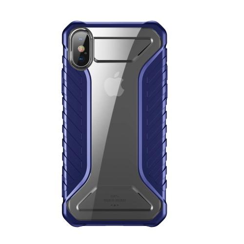 Baseus Tyre Series (iPhone Xs) - Blå