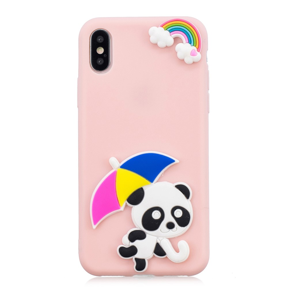 Trolsk 3D Panda Umbrella Case (iPhone Xs Max)