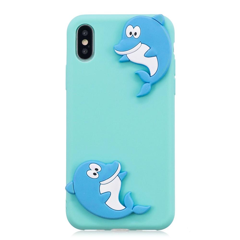 Trolsk 3D Happy Dolphin Case (iPhone Xr)