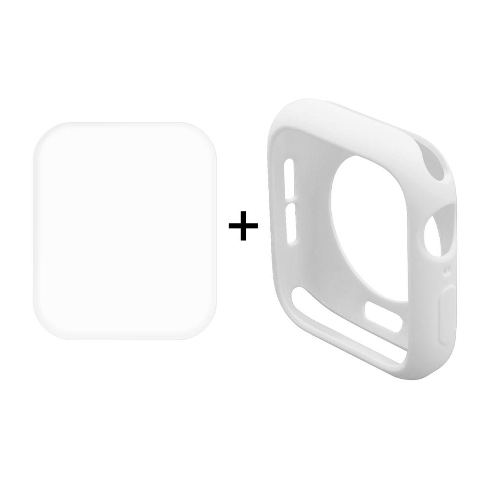 Hat Prince Case + Screen Protector (Apple Watch 44 mm) - Blå