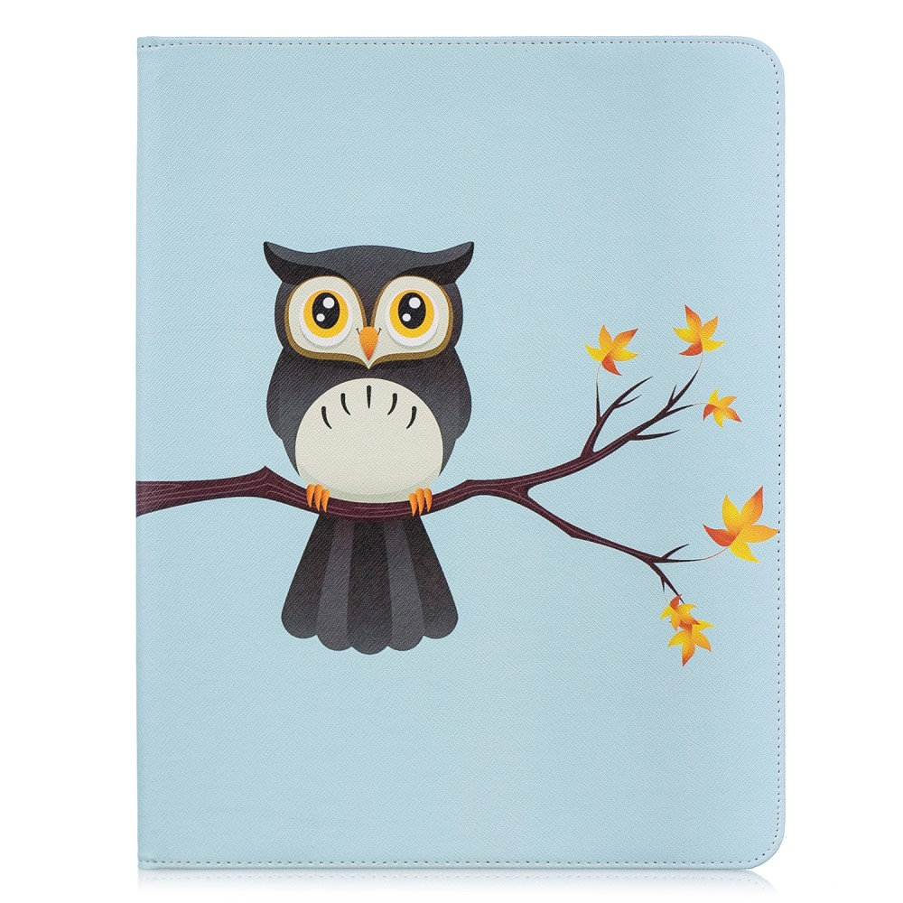 Cute Wallet Folio - Owl (iPad Pro 12,9 (2018))