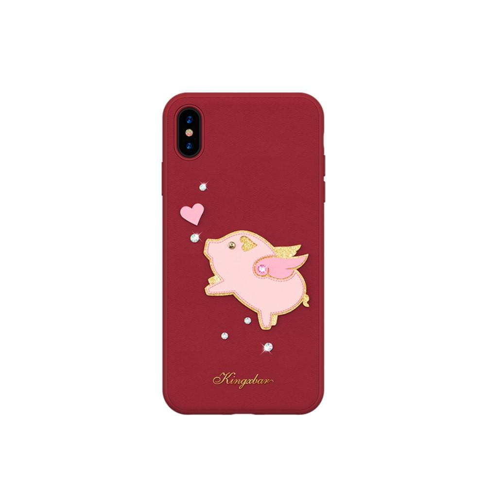 Kingxbar 3D Loving Pig (iPhone Xs Max)