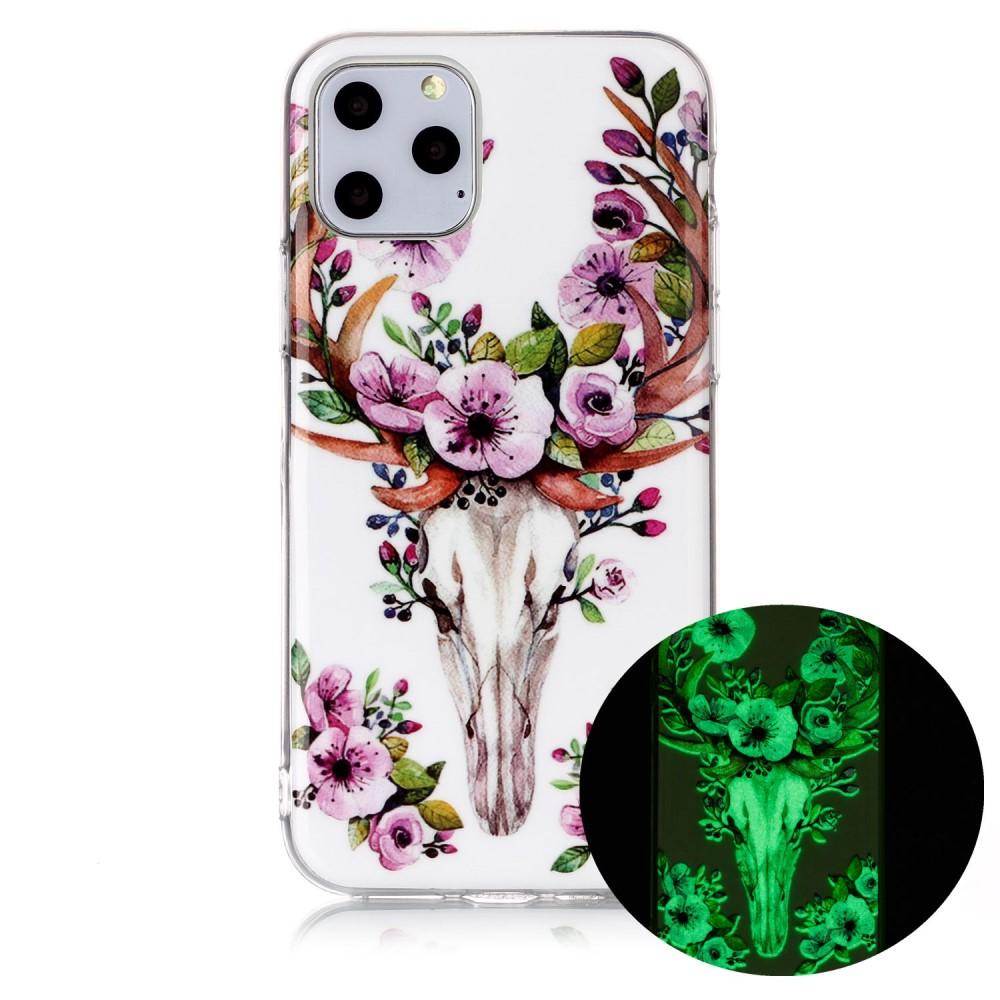 Glow In The Dark Case - Flower Elk (iPhone 11 Pro)
