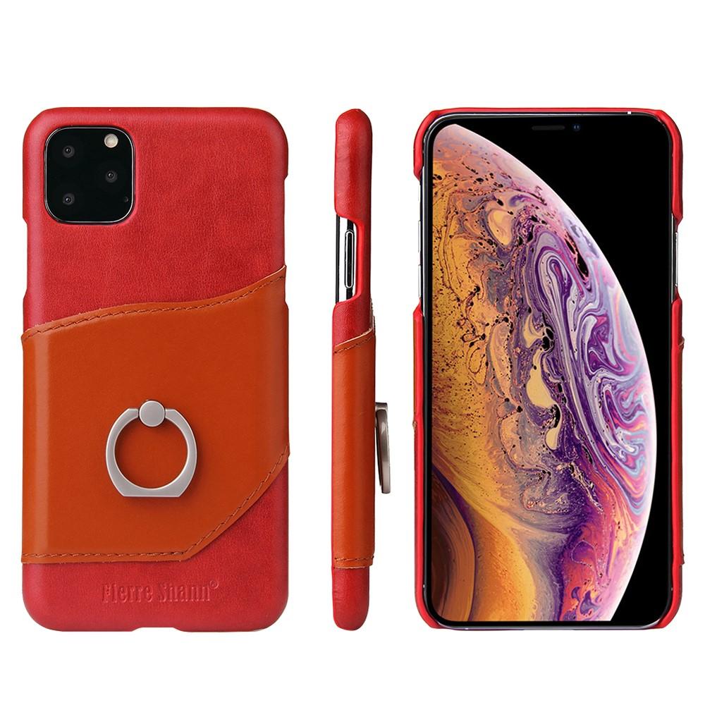 Fierre Shann Ringo Card Case (iPhone 11 Pro Max) - Röd/orange