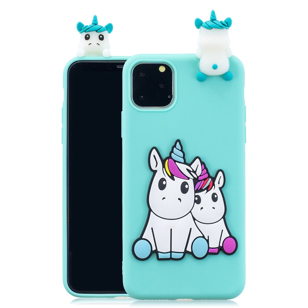 Trolsk 3D Unicorn Doll Case (iPhone 11)
