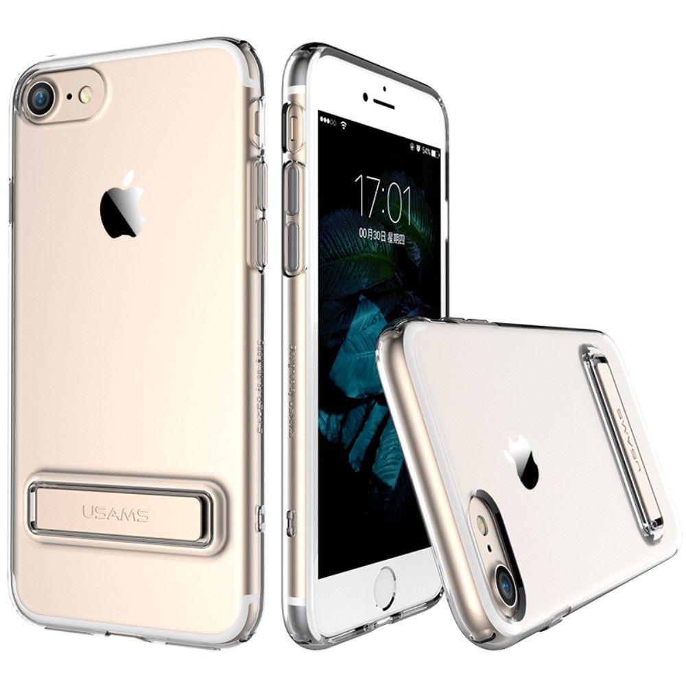 Usams Bright Series Back Case (iPhone 8/7) - Roséguld