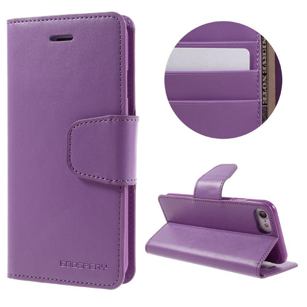 Mercury Diary Wallet (iPhone 7) – Mörkrosa