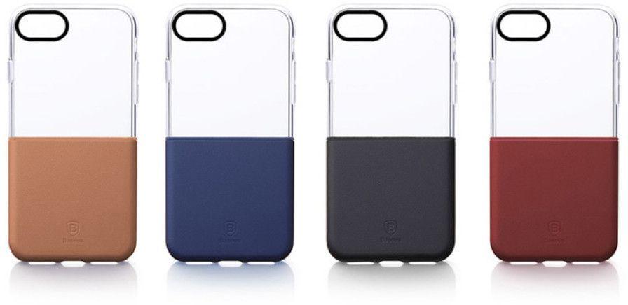 Baseus Half to Half (iPhone 7 Plus) – Röd