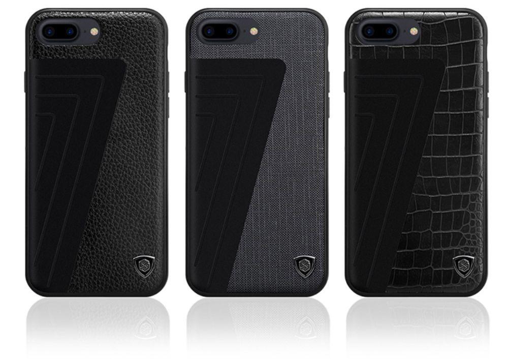 Nillkin Hybrid Skin (iPhone 7 Plus) – Svart krokodil