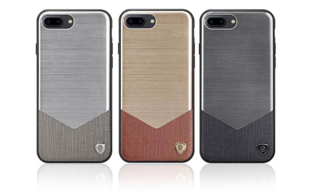 Nillkin Lensen Case (iPhone 8/7 Plus) - Silver