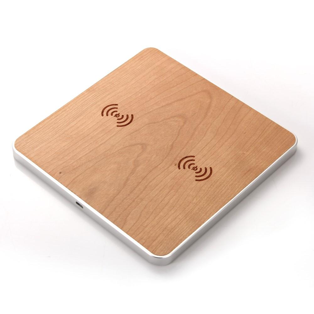 Universal Wooden Qi Charging Pad