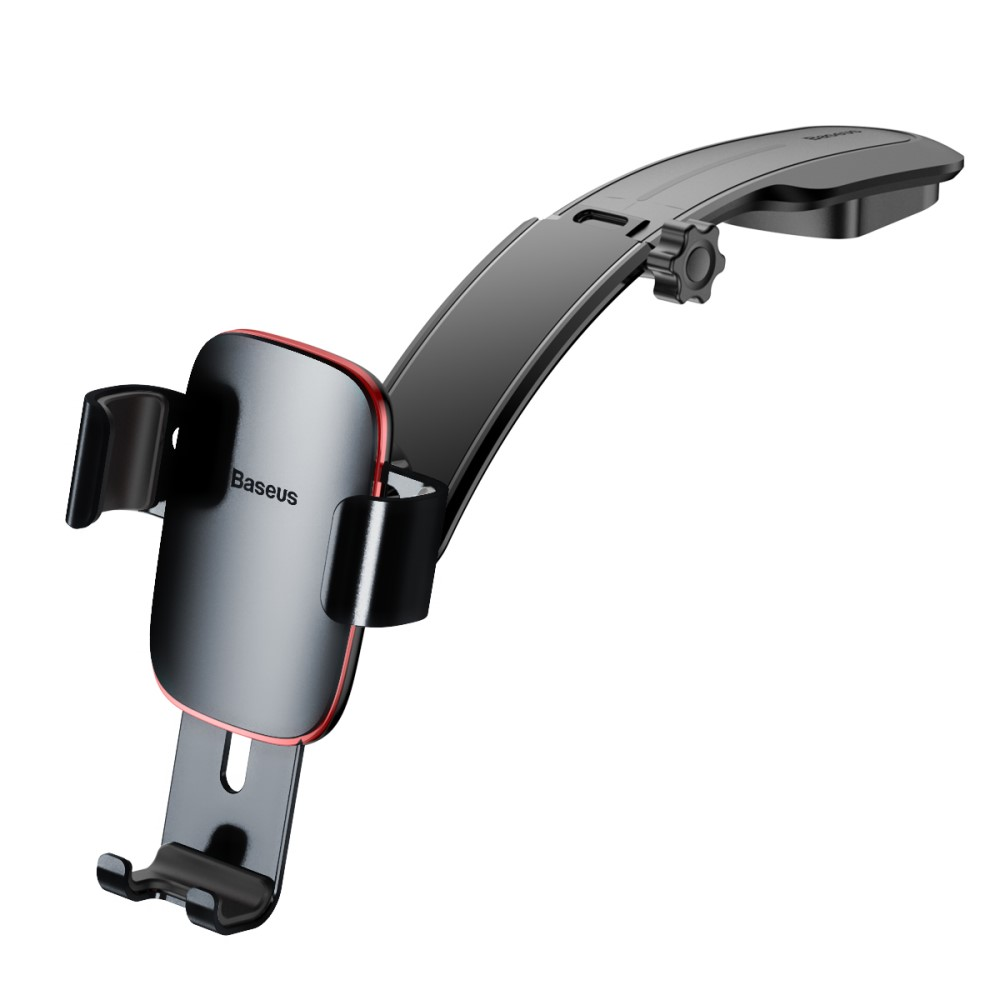 Baseus Metal Car Mount Holder (iPhone) - Grå