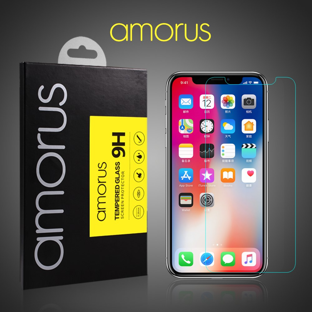 Amorus Tempered Glass Arc Edge (iPhone 11 Pro/X/Xs)