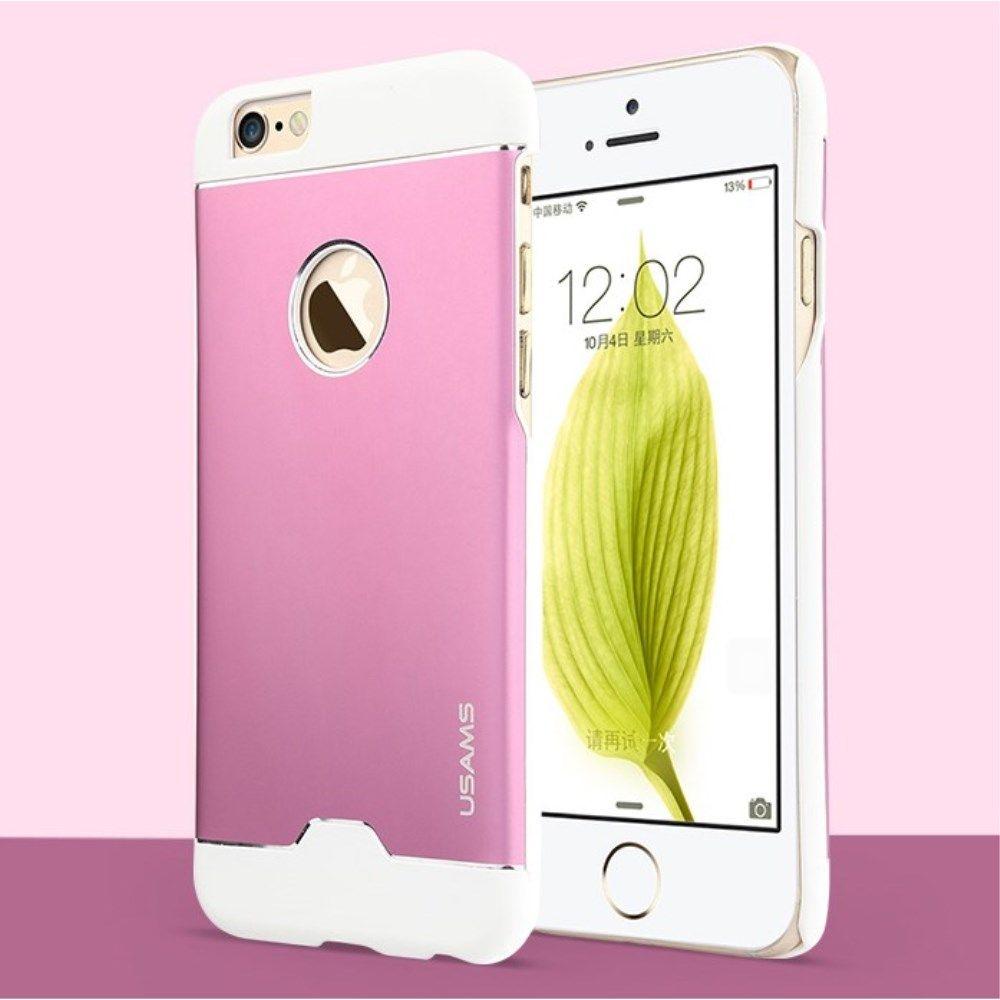Usams Blade Case (iPhone 6/6S) - Rosa/vit