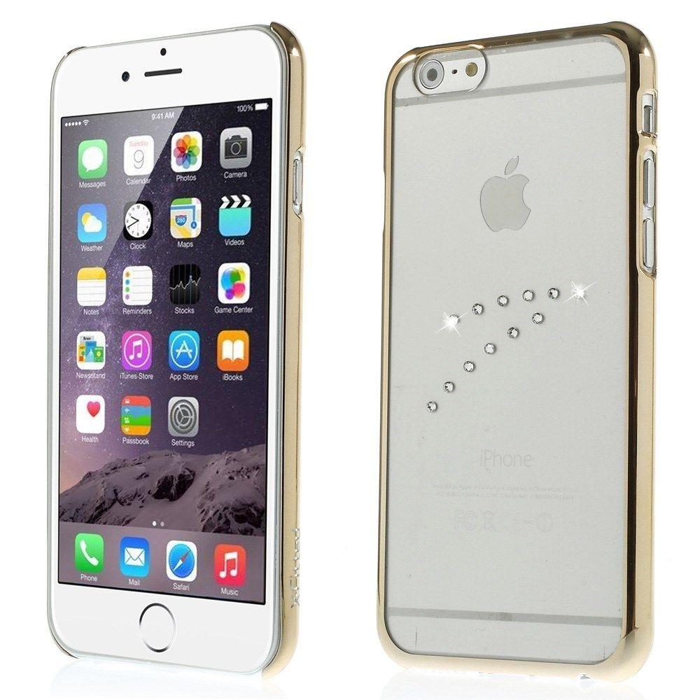 X-Fitted Swarovski Diamonds (iPhone 6/6S) - Guld