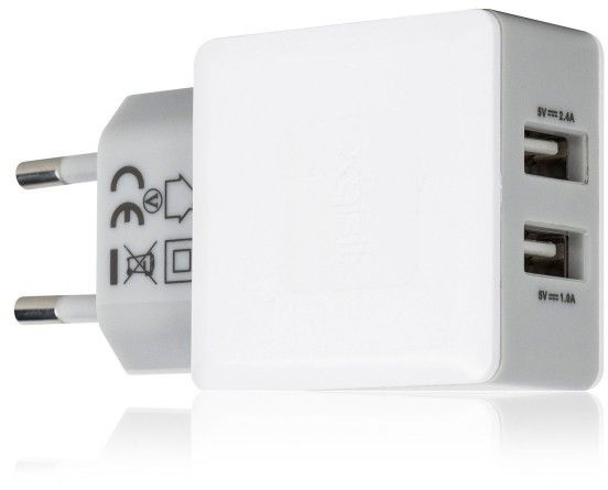 Xqisit Dual Travel Charger 3,4 A