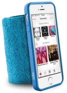Puro Running Handledsband (iPhone 5/5S/SE) - Blå