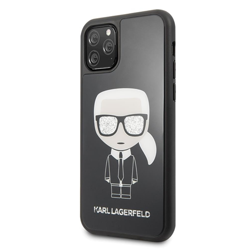 Karl Lagerfeld Iconic Glitter (iPhone 11 Pro)