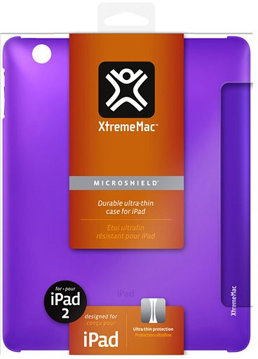 XtremeMac - MicroShield (iPad 2) - Lila