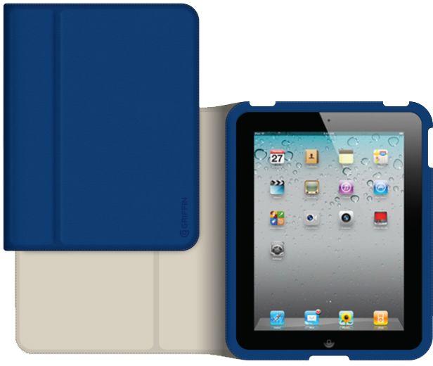 Griffin Slim Folio (iPad Air) - Blå