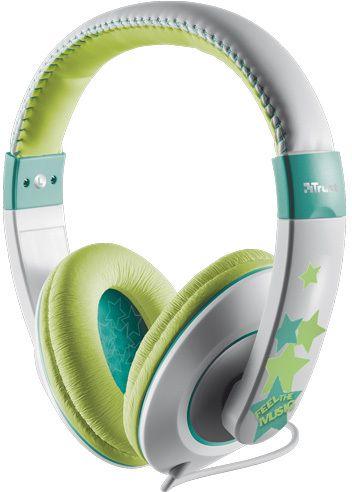 Trust Sonin – Kids Headphones – Rosa/lila