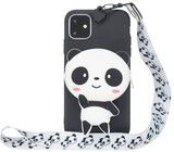 Trolsk 3D Bag with Neckband - Tiny Panda (iPhone 11 Pro Max)