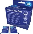 AF Screen-Clene Duo - Cleaning Wipes 20 + 20 st