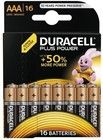 Duracell Plus Power AAA/L03 16-pack