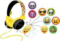 Emoji Flip'n'Switch Headphones