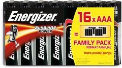 Energizer Alkaline Power AAA/LR03 16-pack