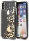 Guess Liquid Glitter Case - Hearts (iPhone X/Xs)