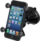 RAM Mount - Kort X-Grip med sugkopp (iPhone)