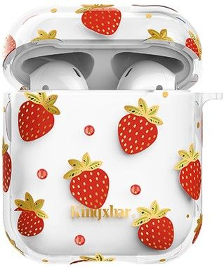 Kingxbar Apple AirPods Case - Strawberry