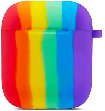 Trolsk Rainbow Silicone Skin with Hook (AirPods 1/2)