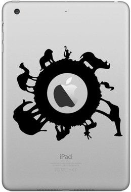 Animals Decal Sticker (iPad)