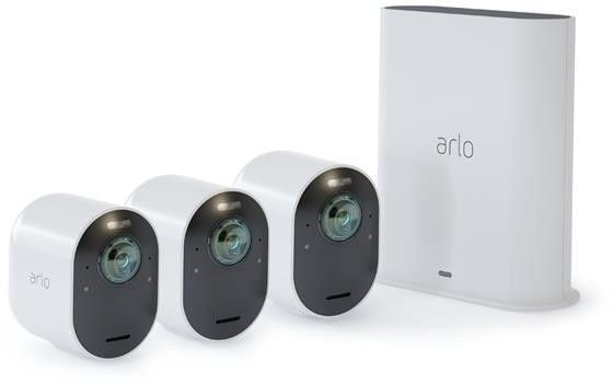 Arlo Ultra 4k UHD Wirefree 3 Camera System VMS5340